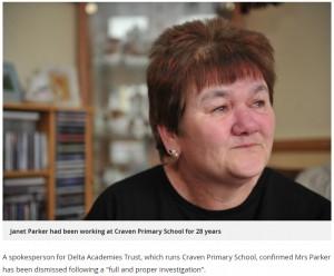 【海外発!Breaking News】勤続28年の小学校給仕係、女子児童からの苦情で解雇に(英)