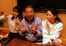 【エンタがビタミン♪】桐谷美玲&河北麻友子に挟まれてニヤニヤ 出川哲朗が「羨ましすぎるー!」