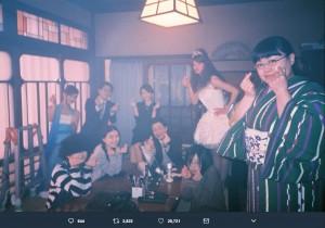 瀬戸康史、『海月姫』クランクアップを報告(画像は『瀬戸康史 2018年3月16日付Twitter「ついさっきドラマ『海月姫』がクランクアップした。」』のスクリーンショット)
