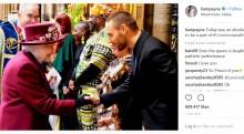 【イタすぎるセレブ達】リアム・ペイン、エリザベス女王の前で熱唱 恋人シェリルもパフォーマンスに「いいね!」<動画あり>