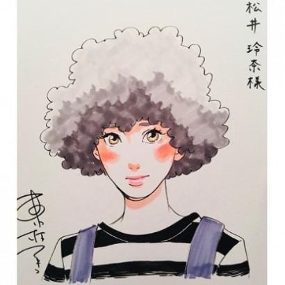 【エンタがビタミン♪】松井玲奈 『海月姫』原作者からの直筆イラストに感激「家宝とはこの事」