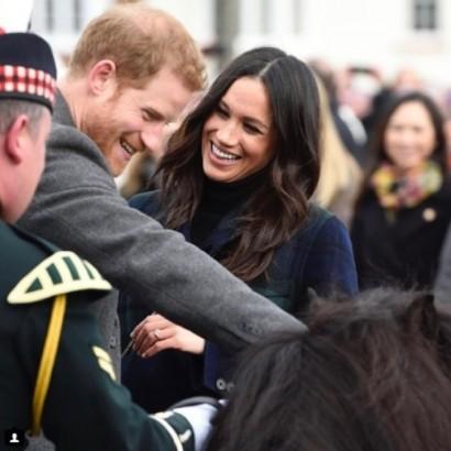【イタすぎるセレブ達】メーガンさん、英ヘンリー王子との挙式を控え洗礼を受ける