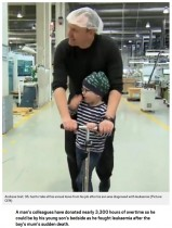 【海外発!Breaking News】病気の息子に付き添ってあげて…社員らが3,264.5時間の残業をし、父親に有給休暇を与える(独)
