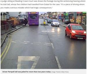 【海外発!Breaking News】アクセルとブレーキを踏み間違え 通行人を死なせた68歳女に2年の懲役刑(英)