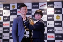 【エンタがビタミン♪】那須川天心の妹・那須川梨々、プロデビュー戦では「兄よりすごいKOで勝ちたい」