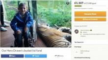 【海外発!Breaking News】「歩けなくなるまであと2年」病を抱えた8歳息子のため両親がバケットリストを作成(英)