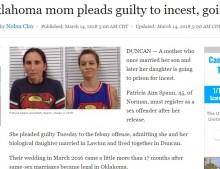 【海外発!Breaking News】息子に続き娘とも 近親婚にこだわった40代母親に懲役2年の実刑判決(米)