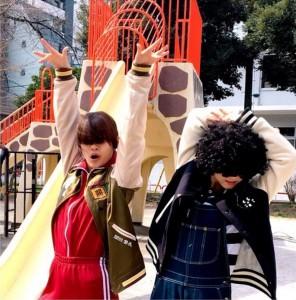 まやや(内田理央)&ばんば(松井玲奈)(画像は『松井玲奈 2018年3月19日付Instagram「本日海月姫最終回です。」』のスクリーンショット)