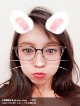 """【エンタがビタミン♪】小島瑠璃子""""メガネ姿""""がまるで別人「みちょぱに似てる?」"""