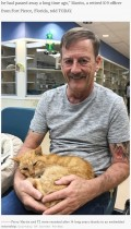 【海外発!Breaking News】14年前に行方不明になった猫、飼い主と奇跡の再会(米)