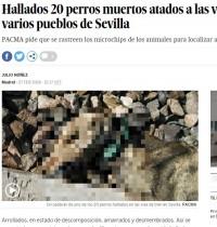 【海外発!Breaking News】20頭以上の犬が線路につながれ惨死 スペインの鉄道で
