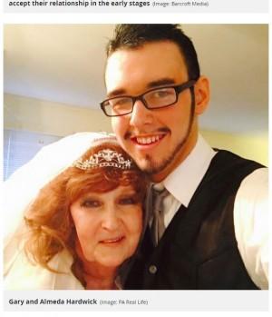 【海外発!Breaking News】「一目惚れだった」19歳男性、72歳妻との出会いから結婚までを語る(米)