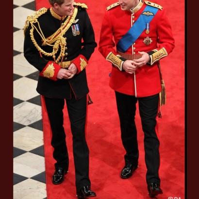【イタすぎるセレブ達】ウィリアム王子、ヘンリー王子&メーガンさんの挙式でベストマンに