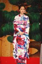 【エンタがビタミン♪】前田敦子『のみとり侍』完成披露試写会で鮮やかな振袖姿 蜷川実花への「ラブコール」で実現