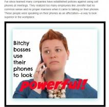【海外発!Breaking News】パワー誇示に長電話が武器…こんなボスは嫌われる! 海外オフィス事情