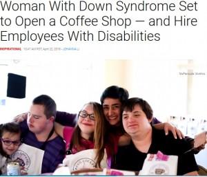 【海外発!Breaking News】雇用の厳しさ経験したダウン症の女性、コーヒー店のオーナーにチャレンジ(米)<動画あり>