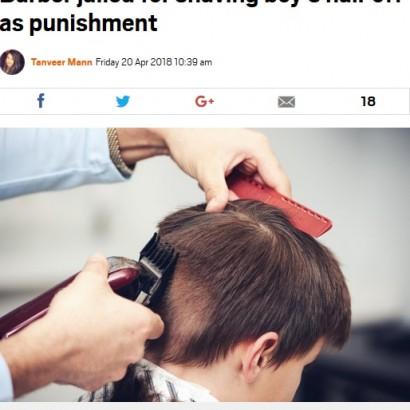 【海外発!Breaking News】「勝手に剃刀を使ったから」10歳少年を丸刈りにした理容師に懲役刑(英)