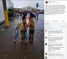 【海外発!Breaking News】9歳男児、心無い窃盗犯に車椅子と歩行器を盗まれる(英)