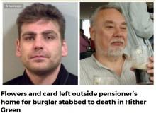 【海外発!Breaking News】高齢者を狙った強盗常習犯、78歳宅侵入し返り討ちで死亡(英)