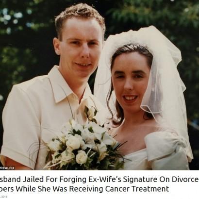 【海外発!Breaking News】余命3か月と宣告された闘病中の妻の署名を偽造 離婚手続きを進めた夫に8か月の懲役刑(英)