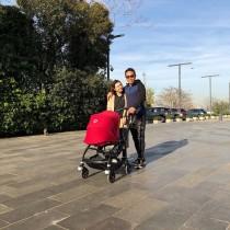 【エンタがビタミン♪】長友佑都&平愛梨夫妻はトルコでもラブラブ 家族3人でスポーツジムへ<動画あり>