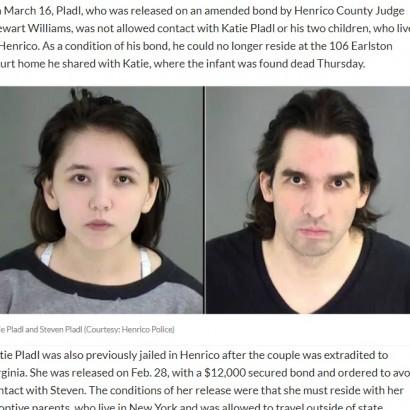 【海外発!Breaking News】近親相姦の末に娘が出産した事件 保釈となった父親が銃で一家無理心中(米)