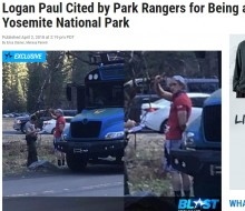 【海外発!Breaking News】反省は口先ばかりのローガン・ポール 国立公園でのバカ騒ぎで通報される