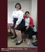 【エンタがビタミン♪】メイプル安藤がセクシーポーズも、アルピー平子の膝は大丈夫か?