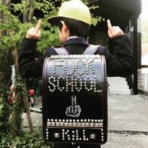 """【エンタがビタミン♪】マキシマムザ亮君、新1年生の次男へ自作の""""ファンキーなランドセル""""贈る"""