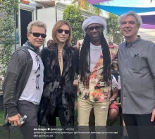 【エンタがビタミン♪】YOSHIKI『コーチェラ』でレジェンドと並ぶ姿 ナイル・ロジャースがSNSで公開