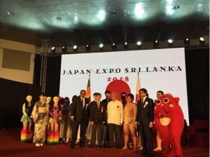 『JAPAN EXPO in Sri Lanka 2018』開会、日本から参加したにゃんごすたーと仮面女子も登壇(画像は『にゃんごすたー 2018年4月21日付Instagram「ジャパンエキスポinスリランカ始まりました~!」』のスクリーンショット)