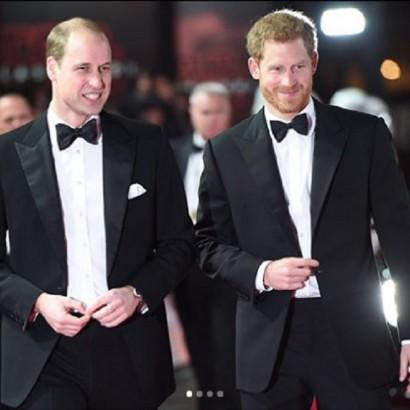 【イタすぎるセレブ達】ヘンリー王子のベストマンを務めるウィリアム王子、ジョークで喜びを露わに