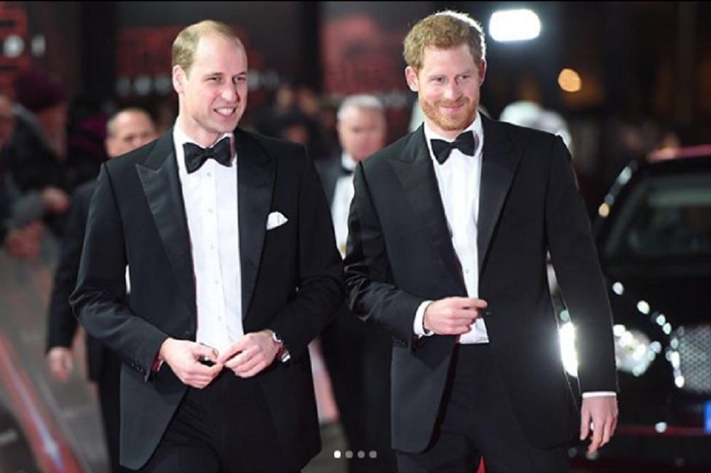 ウィリアム王子、リベンジの時が来た!?(画像は『Kensington Palace 2018年4月26日付Instagram「Prince Harry has asked his brother The Duke of Cambridge to be his Best Man at his wedding to Ms. Meghan Markle.」(PA)』のスクリーンショット)
