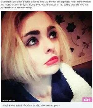 【海外発!Breaking News】21歳娘を摂食障害で亡くした母、悲しみを吐露するとともに世間へ注意喚起(北アイルランド)