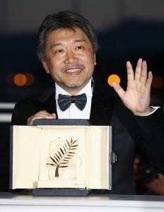 カンヌ国際映画祭でパルムドールを受賞した是枝裕和監督 (C)2018『万引き家族』 製作委員会