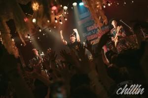 5月4日に渋谷VUENOSで行われたイベント「VUENOS chillin」よりBlue Vintage