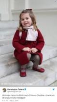 【イタすぎるセレブ達】シャーロット王女3歳に 英王室から最新写真が公開されず「残念」という声も
