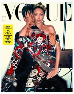 【イタすぎるセレブ達】ジジ・ハディッドが褐色肌に! 人気誌の表紙飾るも、画像加工しすぎて別人に