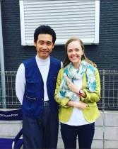 【エンタがビタミン♪】大泉洋&シャーロット・ケイト・フォックス レアな2ショットに「洋君羨ましいな!」