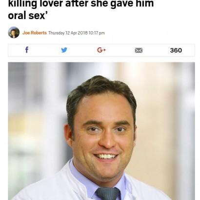 【海外発!Breaking News】ドラッグセックス好きの医師 局部にコカインを塗り、女性が急性中毒死(独)