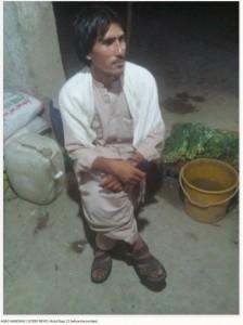 両目をくり抜かれる前のバキさん(画像は『Storytrender 2018年5月16日付「Father, brothers gouge out 22-year-old man's eyes in Pakistan for wanting to marry a girl of his choice」(ANAS HAMDANI/ CATERS NEWS)』のスクリーンショット)