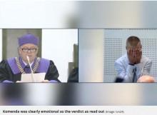 【海外発!Breaking News】冤罪により18年服役した男性、無罪を言い渡され号泣(ポーランド)