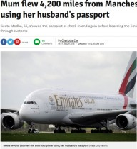 【海外発!Breaking News】夫のパスポートでインドへ向かった女性、英国セキュリティーをすり抜ける