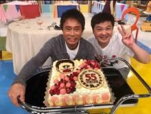 【エンタがビタミン♪】浜田雅功の誕生日を祝う月亭方正「初めてのツーショットではないでしょうか~」