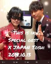 【エンタがビタミン♪】山崎育三郎『THIS IS IKU』のゲストにX JAPAN・Toshlが決定