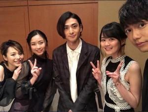 『モーツァルト!』のメインキャスト陣(画像は『山崎育三郎 2018年2月15日付Instagram「2018年。ミュージカル「モーツァルト!」が新しく生まれ変わります。」』のスクリーンショット)