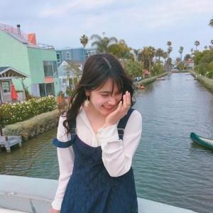 入山杏奈、LAにあるベニス運河を訪れる(画像は『入山杏奈 2018年5月5日付Instagram「Venice canal」』のスクリーンショット)