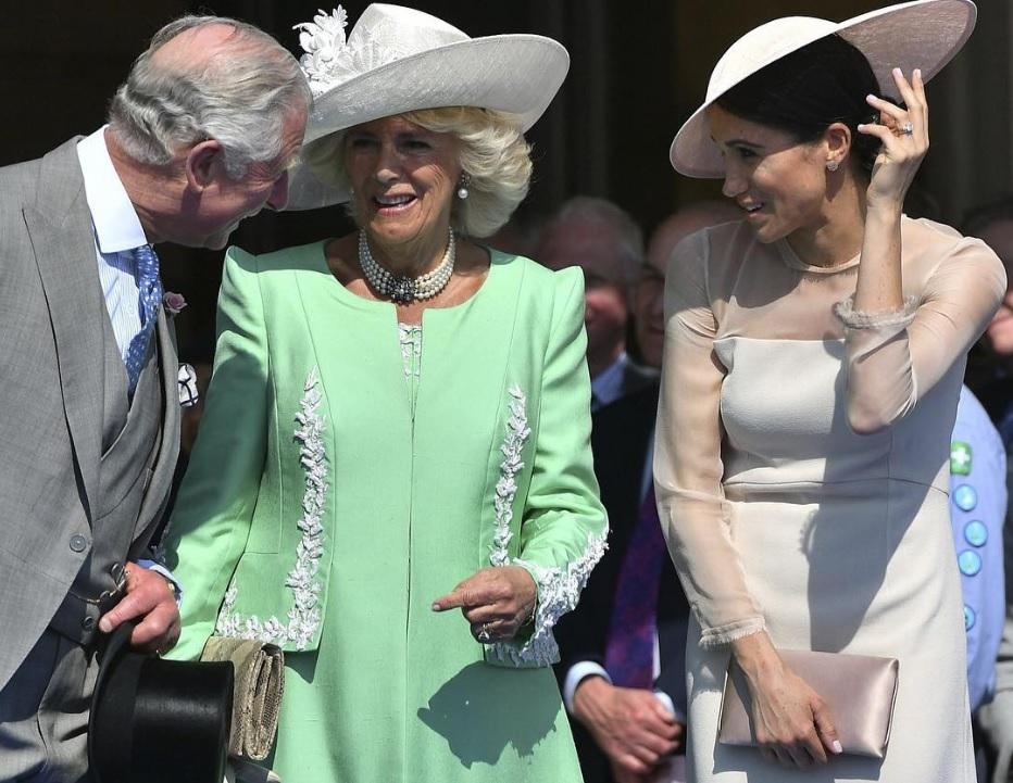 カミラ夫人&メーガン妃、嫁姑関係は良好なスタートに!?(画像は『Kensington Palace 2018年5月23日付Instagram「The Duchess of Sussex with The Prince of Wales and The Duchess of Cornwall」』のスクリーンショット)