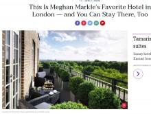 【海外発!Breaking News】メーガン・マークルさんをよく知るための検索キーワード ショップ、レストランからネイルサロンまで簡単に判明!