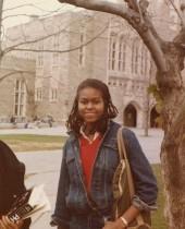 【イタすぎるセレブ達】ミシェル・オバマ元米大統領夫人、大学時代の写真を公開 教育の大切さを訴える